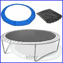 10FT Premium Safety Trampoline With Enclosure, Safety Net, Ladder Kit Kids Gift