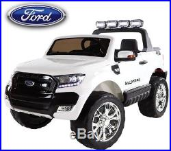 12V Battery FORD RANGER 4x4 LCD BLUT Electric Kids Ride On Car BIG STRONG CAR