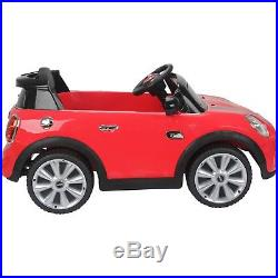 12V Battery Mini Cooper S Child Electric Kids Ride On Car Parental Control Jeep