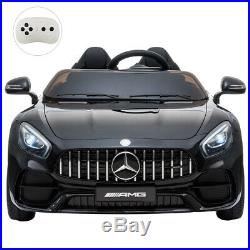 12V Benz Electric Car For Kids Ride On Car With Remote/musicBlack