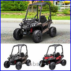 12V Kids Electric Ride On Car Off-road UTV Toy Remote Control for 3-8 Yrs