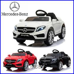 12V Kids Ride On Car Electric MERCEDES BENZ Licensed Remote Control with2 Motors