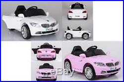 12v Kids Electric Battery Ride On Bmw Coupe Type Car + Parental Remote Control