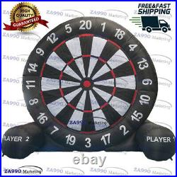 13ft Inflatable Foot Dart Board Golf Game Soccer Kick With Air Blower