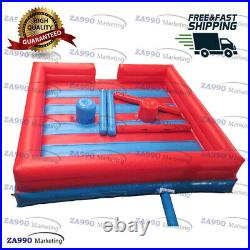 13x13ft Inflatable Jousting Sticks Battle Gladiator Sport Game With Air Blower