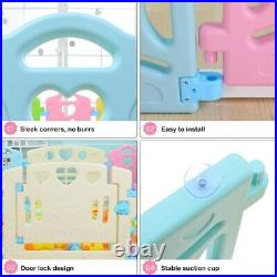 14 Panel Large Baby Playpens Foldable Kids Fence Safety Zone Child Play Toy&Gift