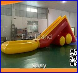 15FT Kids Big Commercial Water Slide Inflatable Outdoor Backyard Fun Experience