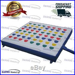 15x15ft Inflatable Twister Funny Family Sport Game With Air Blower