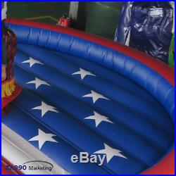 16ft Rodeo Mechanical Bull Inflatable Sports Game Riding Machine With Air Blower