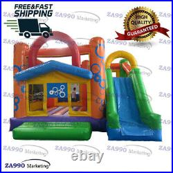 16x13ft Commercial Inflatable Bounce House & Slide Bouncy Combo With Air Blower