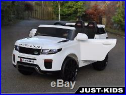 2018 Kids 12V Range Rover Sport Style Luxury Ride on Car Jeep SUV Opening Doors