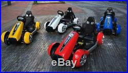 2019 Kids Electric Go Kart Racing Ride On Toy Car Children Speed Racer