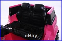 2019 Pink Childrens 4x4 Sport Style 12v Electric Kids Childs Ride On Jeep Car