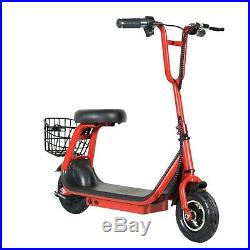 250w 24v Brushless 2-speed Lithium Powered M8 Kids Electric Scooter Red