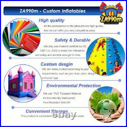 26x6.6ft Inflatable The Simpsons Slide & Pool Water Bouncy With Air Blower