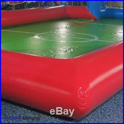 33x16ft Inflatable Soccer Field Football Court Bounce Bouncy House Sports Arena