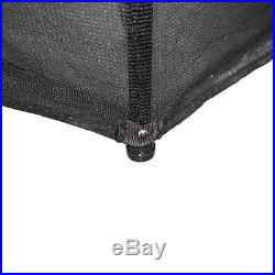 4.5FT 55 Inch Trampoline With Enclosure Safety Net Skirt Kid Outdoor Activity