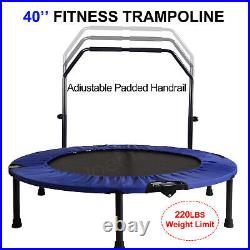 4.5FT/6FT/8FT/10FT Kids Trampoline With Safety Net Enclosure Outdoor Fun Toy UK