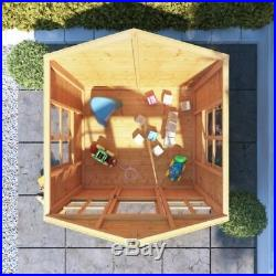 4x4 Bunny Max Childrens Wooden Wendy Playhouse Kids Outdoor Playground 4ft x 4ft