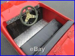 57 Chevy Kids Ride On Car Tot Hot Rod Classic Electric Dodgem Fairground Coin Op