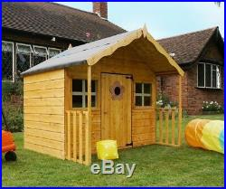 6x5 Childrens Play House Garden Wooden Playhouse Kids Outdoor Activity Toys Yard