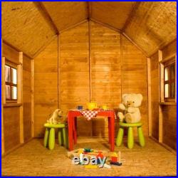 6x6 DUTCH BARN WOODEN PLAYHOUSE KIDS WOOD WENDY HOUSE CHILDS TONGUE GROOVE NEW