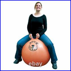 80cm Large Exercise Retro Jump Space Hopper Toy Kids Adult Party Game Free Pump