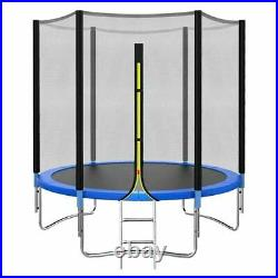 8FT 10FT Trampoline Set with Enclosure Safety Net Outdoor Indoor Kids Toy Play