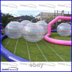 9.2ft Inflatable Zorb Ball Human Bubble Bumper PVC Rolling Ball On Grass