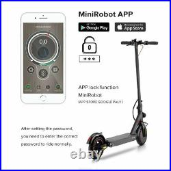 ADULT KIDS PRO ELECTRIC SCOOTER BATTERY 36V Strong MOTOR 350W E-SCOOTER WithAPP