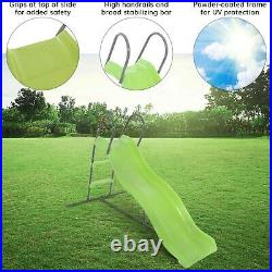 Airwave 6ft Wavy Kids Plastic Slide for the Garden and Outdoors