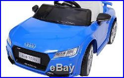 Audi TT RS 6V Kids Electric Ride On Sports Car Toy With Hord LED Front Lights