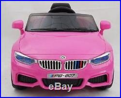 BMW 4 Series M4 style kids 12v ride on car battery powered ride on toy