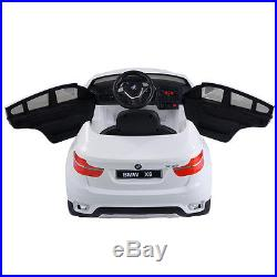 BMW X6 Kids Ride On Car 12V Electric Battery Remote Control Children Toys RC Car