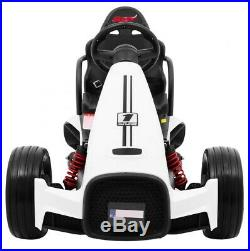 BOLID Go Kart GoCart KIDS RIDE ON ELECTRIC CAR FOR KIDS 2x35W WHITE