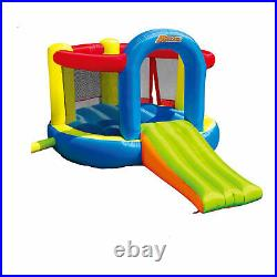 Banzai 35614 Inflatable Jump and Slide Bouncer Bounce House with Oversized Slide