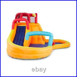 Banzai Kids Inflatable Outdoor Lazy River Adventure Water Park Slide and Pool