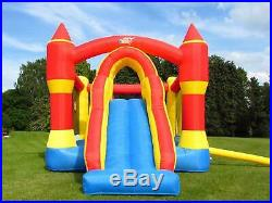 BeBop Ultimate Combo Bouncy Castle and Inflatable Slide for Kids