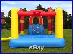BeBop Ultimate Combo Kids Inflatable Bouncy Castle and Slide