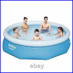 Bestway Fast Set Family Swimming Paddling Pool Outdoor Water Kids 10ft X 30inch