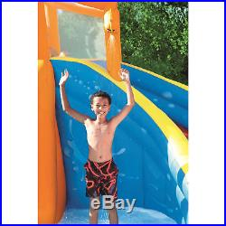 Bestway H2OGO! Hurricane Tunnel Blast Kids Inflatable Water Park with Water Slide