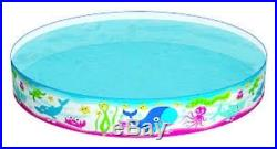 Bestway Kids Sea Life Snapset Rigid Childrens Garden Swimming Paddling Pool New