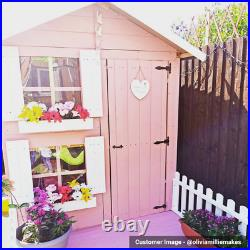 BillyOh Peardrop Two Storey Bunk Kids Wooden Playhouse Outdoor Wendy house 6x5