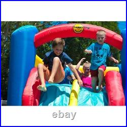Bouncy Castle Slide Soft Play Kids Bouncy Castle Inflatable Obstacle Course