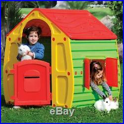 Children Play House Kids Playhouse Outdoor Plastic Magical House Garden Toys