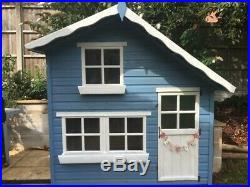 Children's Outdoor Wooden Playhouse Wendy House Used Garden Toys Kids