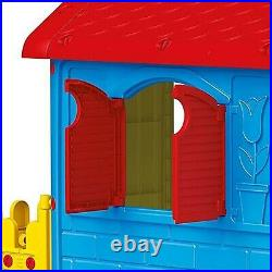 Childrens My First House With Fence Indoor Outdoor Playhouse Kids Summer Garden