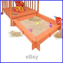 Childrens Outdoor Playhouse Kids Sand Pit Box Play Tent Garden Patio Fun Toys