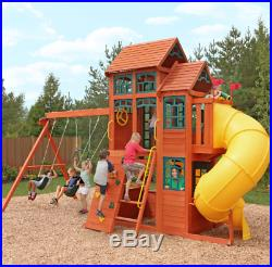 Climbing Frame Jungle Gym Outdoors Swing Toys Games Kids Children Play Clubhouse