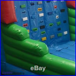 Commercial Inflatable Climb Rock Climbing Wall Obstacle Course Bounce House